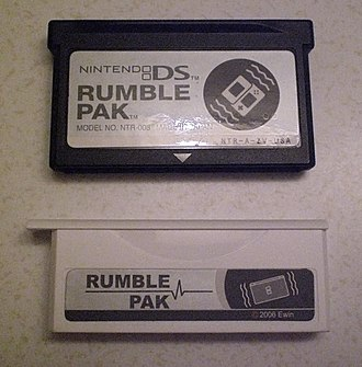 Rumble Pak - Rumble Pak for the Nintendo DS and a third party, smaller version for the Nintendo DS Lite by eWin