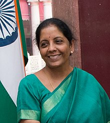 Nirmala Sitharaman in New Delhi - 2017 (36624276764) (cropped).jpg