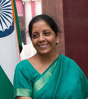 Nirmala Sitharaman - Sitharaman in New Delhi in 2017