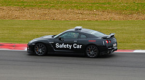 Nissan GT-R safety car Silverstone 2011.jpg