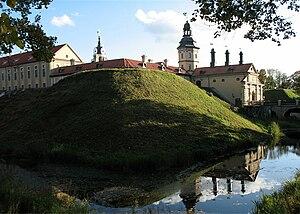 Ruthenian nobility - Niasvizh Castle, the main residence of the Radziwill family