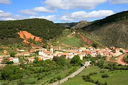 افق مرئی Noguera de Albarracín, Spain