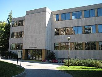 Northrop Frye - Northrop Frye Hall, University of Toronto