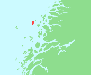 Nesøya, Nordland island in Rødøy/Lurøy, Norway
