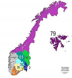 Telephone numbers in Norway Norway telephone codes