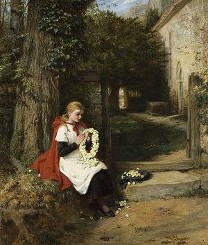 George Bernard O'Neill - Not Forgotten (1882)