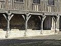 Noyon (60), cathédrale Notre-Dame, bibliothèque du chapitre, façade principale sud-est, galerie du rdc 2.jpg