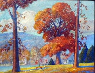 Ozark Folk Center - Ozark Landscape by Frank Nuderscher, 1920