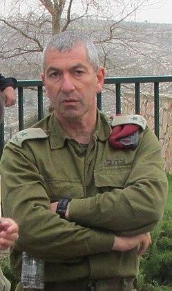 מפקד פיקוד המרכז רוני נומה