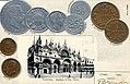 Numismatic postcard from the early 1900's - Kingdom of Italy 01.jpg