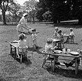 Nursery School- Life at the Old Manor House, Wendover, Buckinghamshire, England, 1944 D21111.jpg