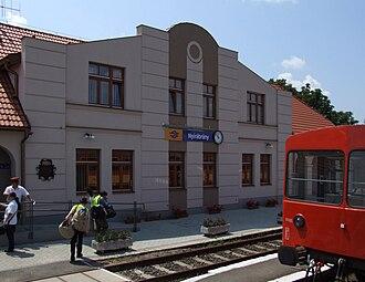 Nyírábrány - Image: Nyírábrány train station