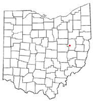 Location of Stone Creek, Ohio