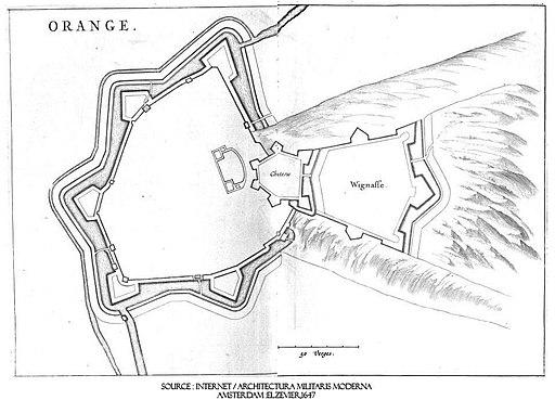 ORANGE - Military Map