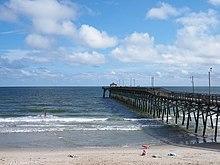 Oak island north carolina wikipedia for Ocean crest fishing pier