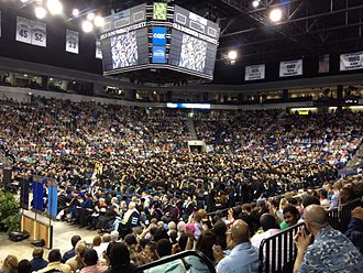 Ted Constant Convocation Center - Old Dominion University Graduation Ceremony