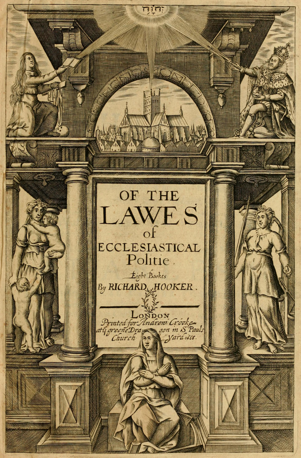 Of the lawes of ecclesiastical politie (1666)