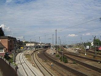 Offenburg station - Offenburg station, 2005