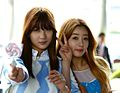 Oh Hayoung and Yoon Bomi on 2 April 2014.JPG