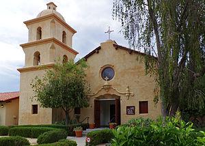 St. Thomas Aquinas Chapel (Ojai, California) - Image: Ojai Valley Museum 2014 02