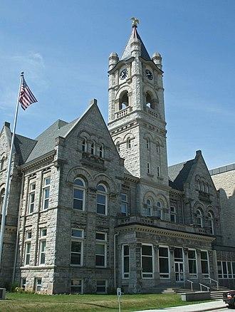 Ozaukee County, Wisconsin - Image: Old Ozaukee Courthouse Jul 09
