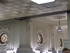 King Street Station - View of suspended ceiling, now removed