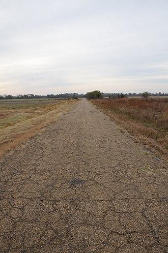 Arkansas Highway 11 - Image: Old Arkansas 11, Kauffman Road Segment