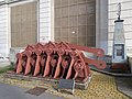 Old Chain Bridge (1839-1849) bridge piers element at Budapest Transport Museum.jpg
