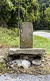 Old National Pike Milestone at Dahlgren Road MD1.jpg