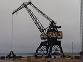 Fil:Old loading crane in the South Harbour of Luleå.jpg