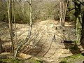Old quarry at Buckland Rings being used by mountain bikers - geograph.org.uk - 24954.jpg