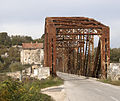 Old steel bridge just south of Capljina over the river Neretva3.jpg