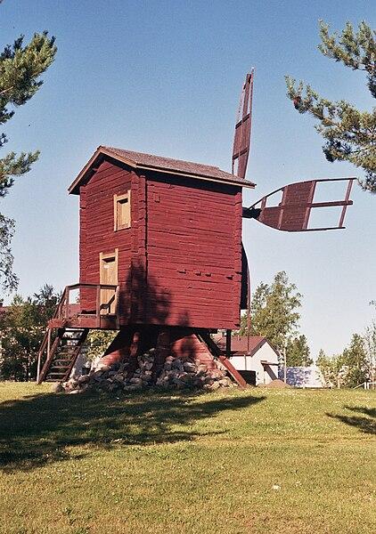 File:Old windmill in Tornio Jul2010 001.jpg