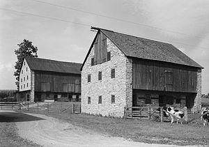 Oley Township, Berks County, Pennsylvania - Kaufman barns
