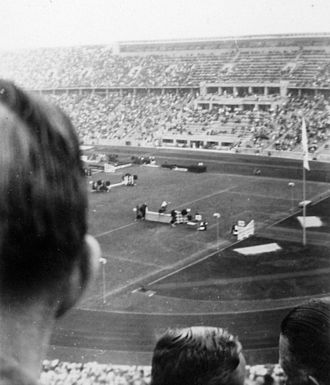 Equestrian at the 1936 Summer Olympics - Show jumping at the Olympiastadion