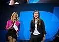 Olivia Wilde and Lara Spencer at CES 2011 2.jpg