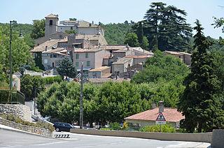 Ollières Commune in Provence-Alpes-Côte dAzur, France