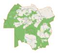 Olsztyn (gmina wiejska) location map.png