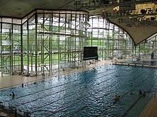 olympisches schwimmbecken volumen