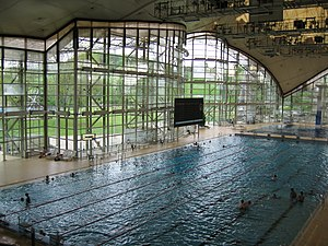 Olympia Schwimmhalle - Image: Olympic Pool Munich 1972