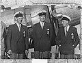 Olympische zeilers Drakenklasse Abraham Everardus Dudok van Heel, Willem Paul v, Bestanddeelnr 905-2169.jpg