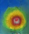 Olympus Mons, ortho-image ESA206186.tiff