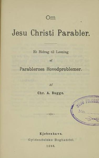 File:Om Jesu Chriti Parabler.djvu