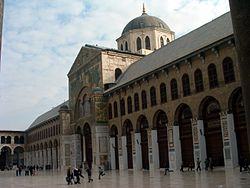 Umayyad Mosque built by Al-Walid