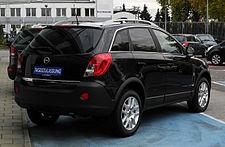 Opel Antara Wikipedia Wolna Encyklopedia