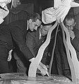Opening Rotterdam-tentoonstelling ter herdenking van het bombardement in mei 194, Bestanddeelnr 935-2368.jpg