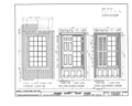 Orange County Courthouse, King and Churton Streets, Hillsborough, Orange County, NC HABS NC,68-HILBO,4- (sheet 18 of 20).png