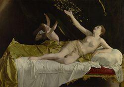 Orazio Gentileschi: Danaë