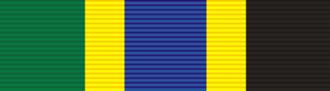 Salim Ahmed Salim - Image: Order of the United Republic of Tanzania ribbon bar