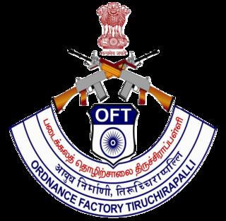 Ordnance Factory Tiruchirappalli defense company based in Tiruchirappalli, Tamil Nadu